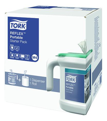Переносной диспенсер Tork Reflex™ с центральной вытяжкой (M4) 473126, фото 2