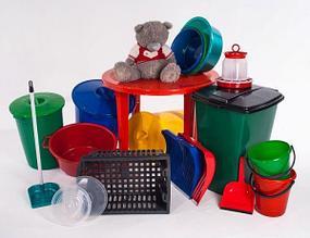 Пластиковые предметы быта