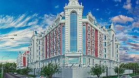 2 комнатная квартира в ЖК Байсанат 86.7 м²