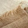Упаковочная мешочная ткань, мешковина льняная, плотность 420 гр/кв.м, ширина 106 см
