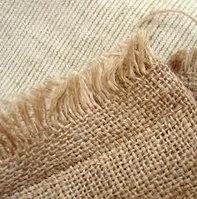 Упаковочная мешочная ткань, мешковина, лен-джут, плотность 420 гр/кв.м, ширина 106 см