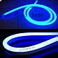 Флекс неон синий 1,5*2,5 см SMD, Led Flex neon синего цвета, гибкий неон, холодный неон, неоновый провод, фото 2