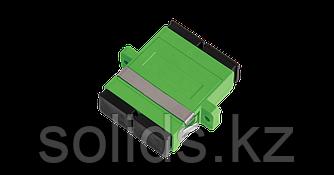 Адаптер оптический соединительный SC/APC-SC/APC, двойной, зеленый