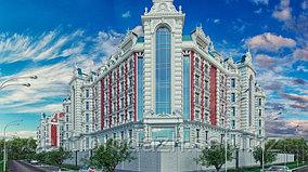 4 комнатная квартира в ЖК Байсанат 135.2 м²