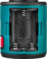 Нивелир лазерный линейный KRAFTOOL CL20 #4, держатель с микролифтом ММ1 элевационный штатив, кейc, фото 3