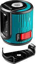 Нивелир лазерный линейный KRAFTOOL CL20 #4, держатель с микролифтом ММ1 элевационный штатив, кейc, фото 2