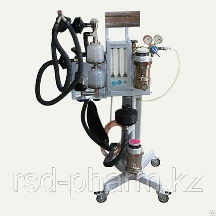 Аппарат для ингаляционного наркоза Полинаркон -12 с приставкой ИВЛ ЭМО-200, фото 2
