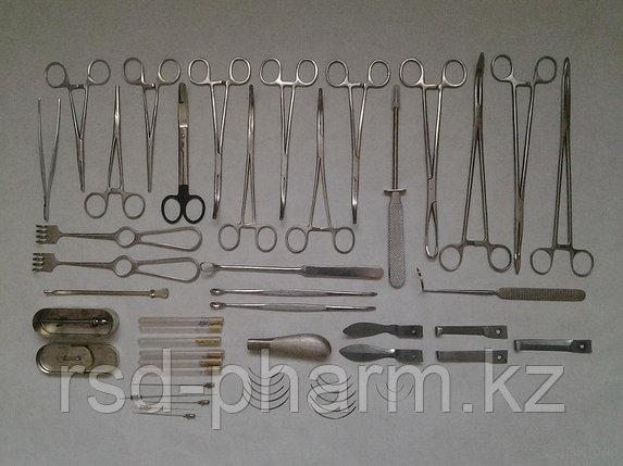 Набор медицинских инструментов операционный большой из 4-х мест, МИЗ ВОРСМА, фото 2