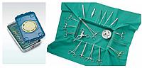 Набор медицинских инструментов хирургический для детей малый Н-155, МИЗ ВОРСМА