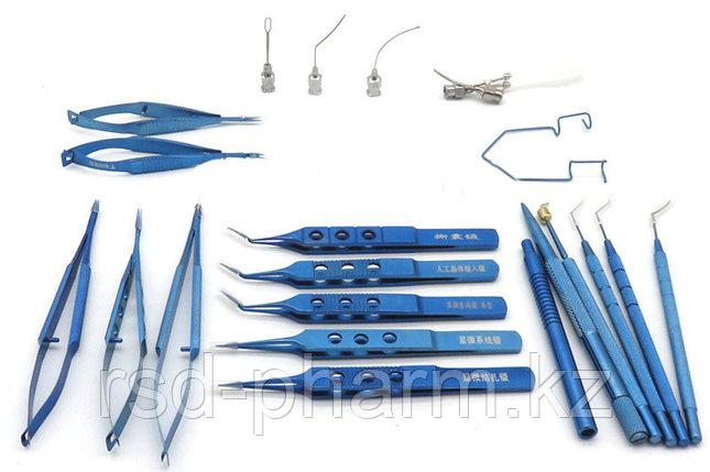 Набор медицинских инструментов глазной хирургический, МИЗ ВОРСМА, фото 2