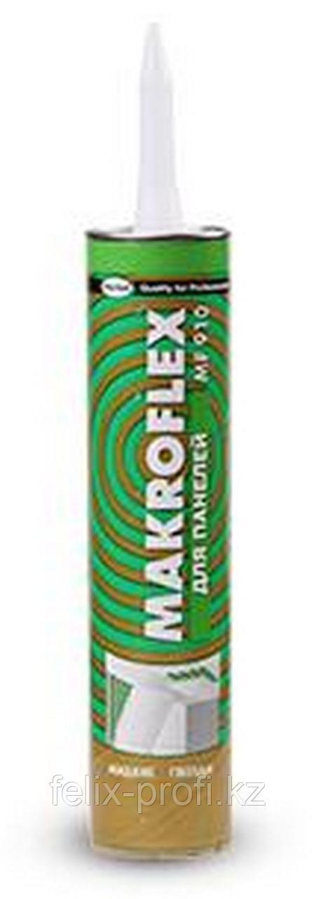"""MAKROFLEX Bio Line MF 170 """"Турбобыстрый""""  Монтажный клей с повышенной прочностью крепления. 400г. белый."""