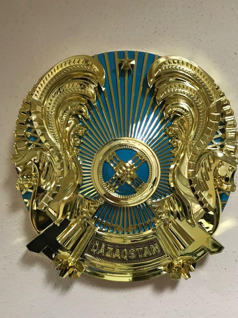 Государственный Герб Республики Казахстан  100см .Герб СТ РК 989-2014