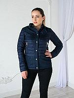 Куртка женская Evacana демисезонная, синяя