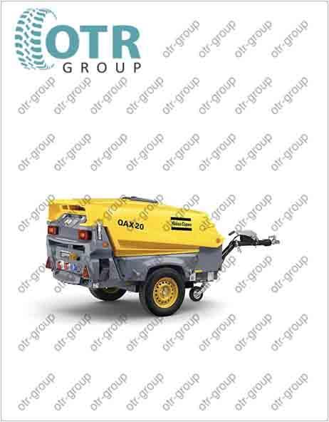 Запчасти на дизельный генератор Atlas Copco QAX 20