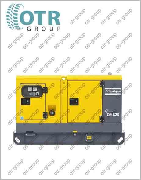 Запчасти на дизельный генератор Atlas Copco QAS 20 FLX