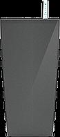 Антрацитовый кашпо 12x23cmH