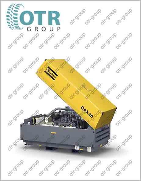 Запчасти на дизельный генератор Atlas Copco QAX 30