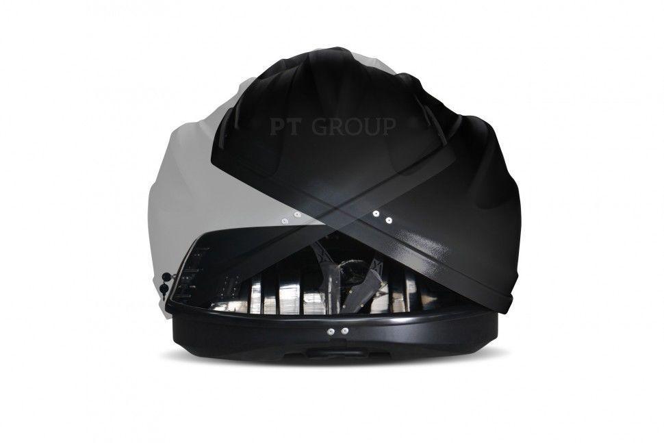 """Бокс-багажник на крышу Аэродинамический Черный """"Turino Sport"""""""