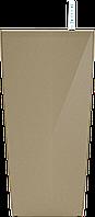 Кашпо с автополивом 12x23cmH цвета золота