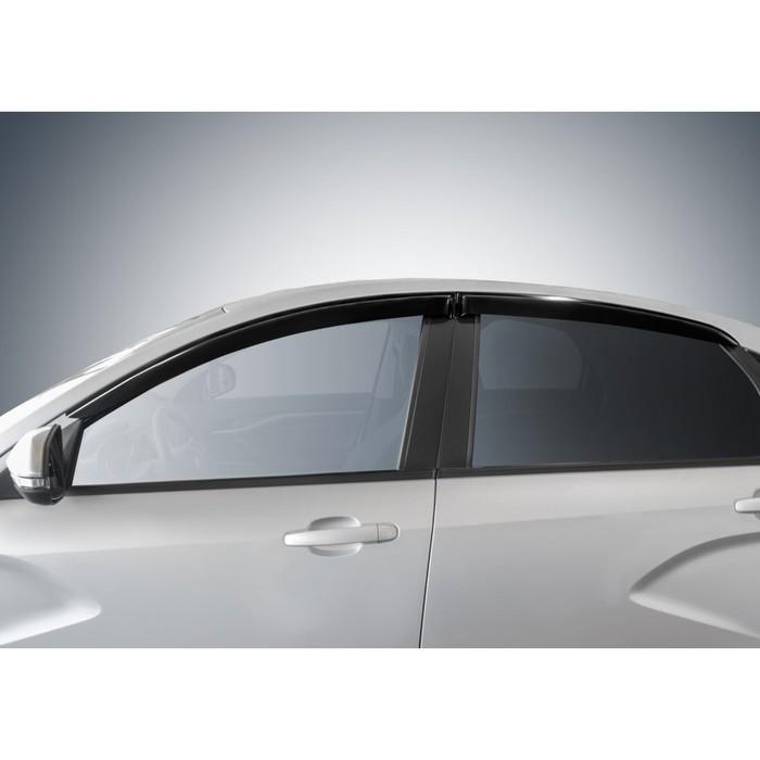 Дефлекторы окон для Lada Vesta седан