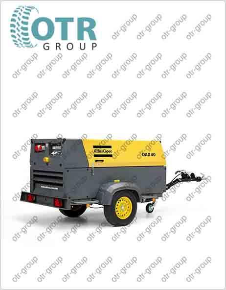 Запчасти на дизельный генератор Atlas Copco QAX 40