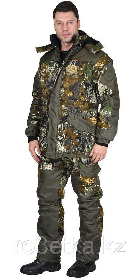 """Костюм """"ГОРКА"""" зимний: куртка дл., брюки (тк.CROWN-230) КМФ"""