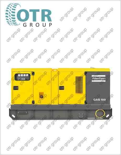 Запчасти на дизельный генератор Atlas Copco QAS 100 FLX