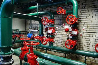 Монтаж и обслуживание водяного и газового пожаротушения