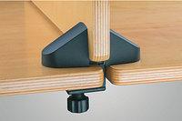 «Двойной» зажим для крепления панелей к краю стола