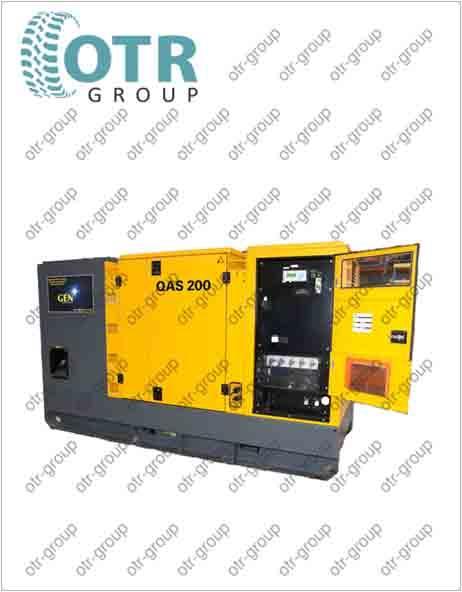 Запчасти на дизельный генератор Atlas Copco QAS 200