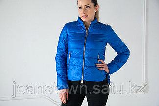 Куртка демисезонная Evacana короткая, синяя