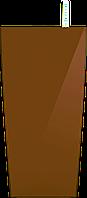 Коричневый кашпо с автополивом 12x23cmH