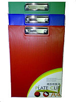 Папка-планшет А4 книжка пластик