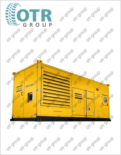 Запчасти на дизельный генератор Atlas Copco QAC 500