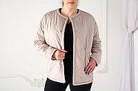 Куртка женская демисезонная Evacana короткая, розовая