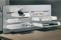 OrgaPanel, Интегральная настольная система, цвет белый, 780x400  мм