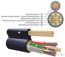 Оптический кабель с диэлектрическим силовым элементом