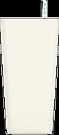 Белый кашпо с автополивом 45x81cmH