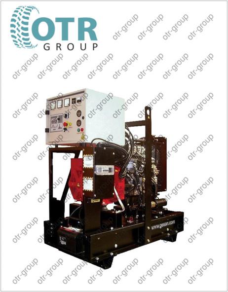 Запчасти на дизельный генератор Gesan DPA 25 E