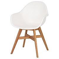 Кресло лёгкое ФАНБЮН белый ИКЕА, IKEA