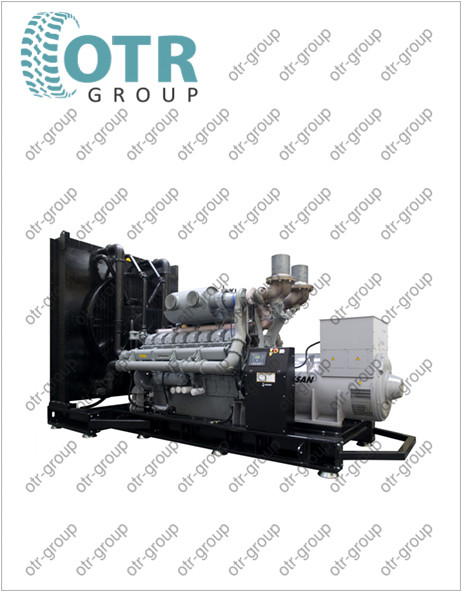 Запчасти на дизельный генератор Gesan DPA 50E