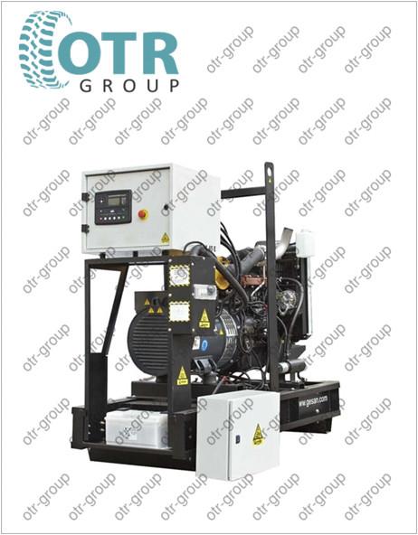 Запчасти на дизельный генератор Gesan DPA 45 E
