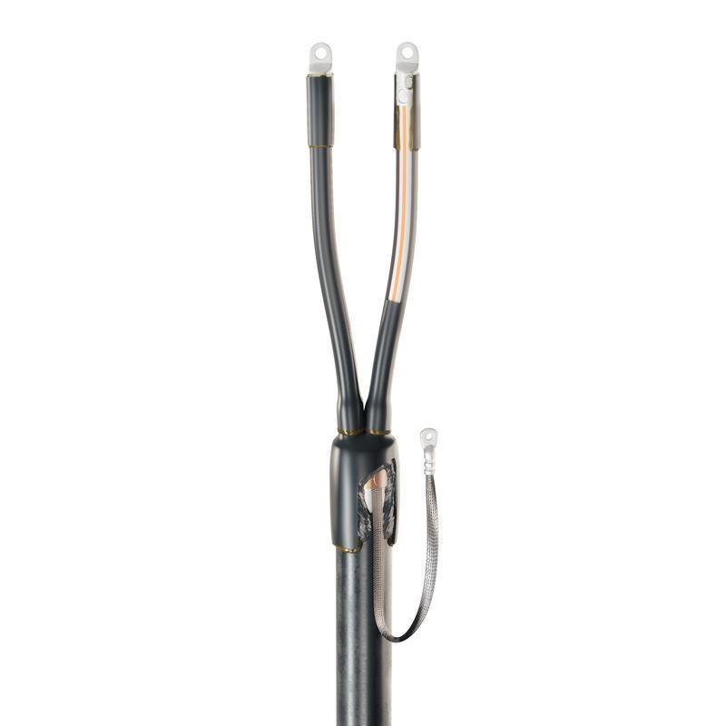 Концевая кабельная муфта для кабелей с пластмассовой изоляцией до 1кВ 2ПКТп-1-25/50(Б)