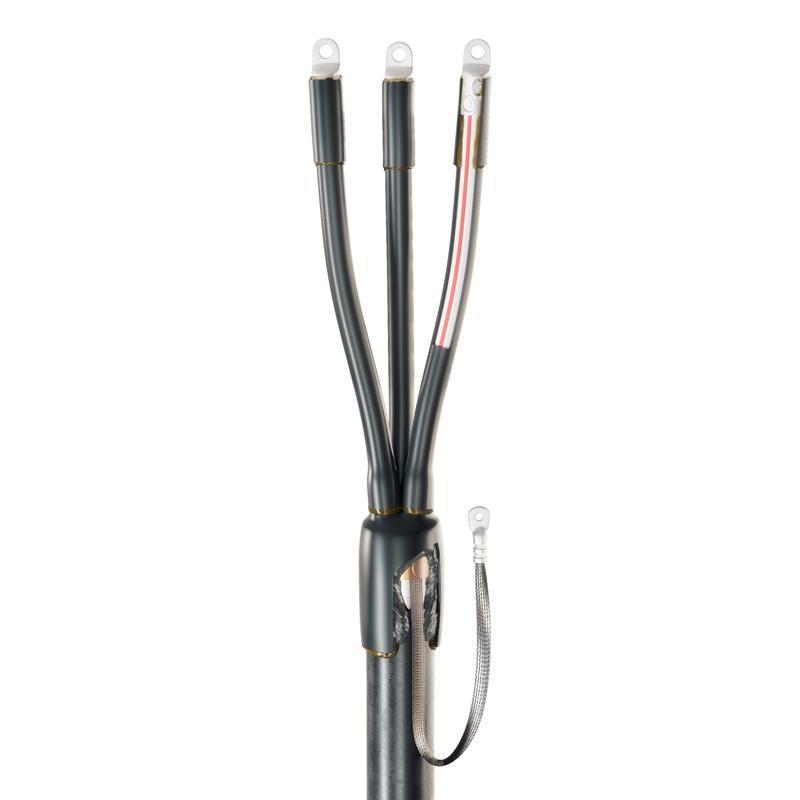 Концевая кабельная муфта для кабелей с пластмассовой изоляцией до 1кВ 3ПКТп(б)-1-150/240