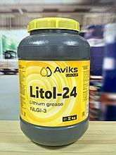 Смазка Литол-24, баночка 2 кг