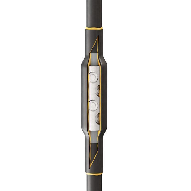 Соединительная кабельная муфта для кабелей с резиновой изоляцией до 1кВ 1РСТ-1-35/50(Б)