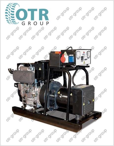 Запчасти на дизельный генератор Gesan DJA 110E