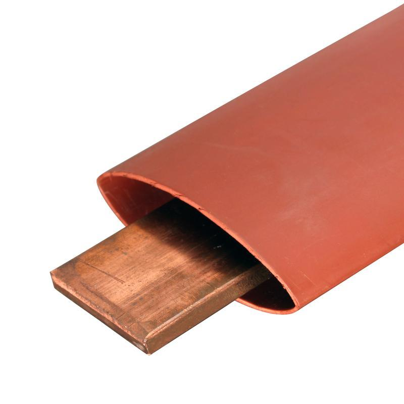 Термоусадочная трубка для изоляции шин напряжением до 10 кВ ТТШ-10-150/60, красная