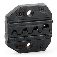 Матрица для опрессовки неизолированных разъемов и наконечников (автоклемм) МПК-04