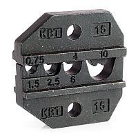 Матрица для опрессовки неизолированных медных наконечников из листовой стали и медных гильз МПК-15